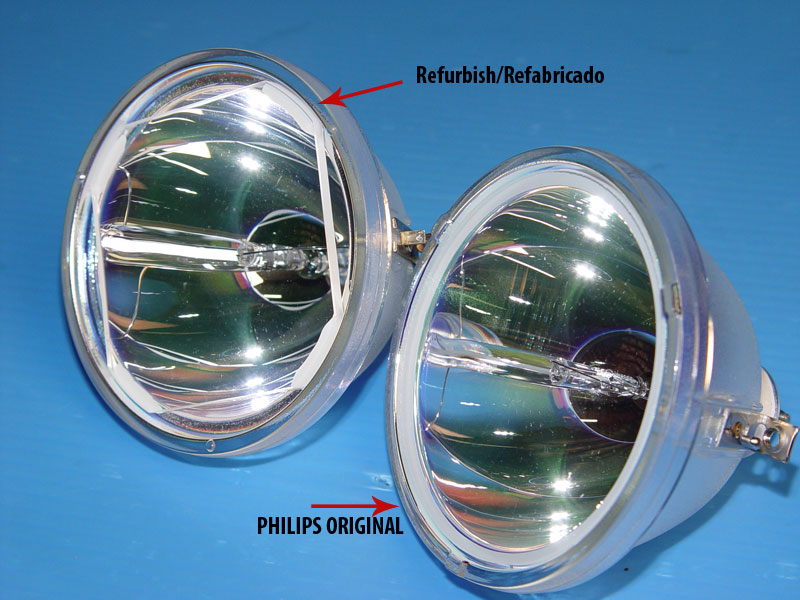 Fake Philips Lamp