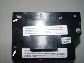 Hitachi UX21511 Lamp Housing Assembly Enclosure3